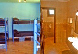 instalaciones del albergue