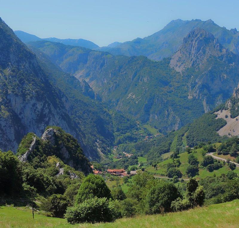 Zona cántabra del parque natural de Picos de Europa