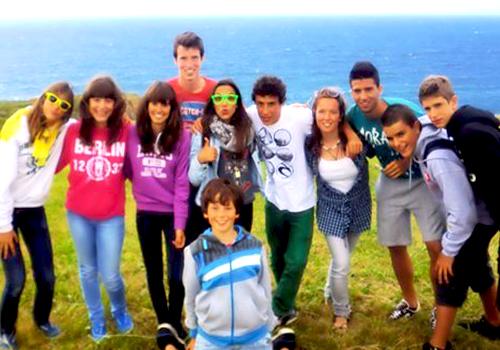 Excursiones por la costa durante el campus de verano en ingles
