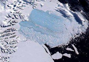 plataforma larsen en la Antartida