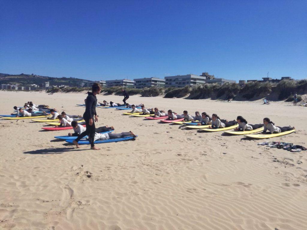 surf camp verano 2018