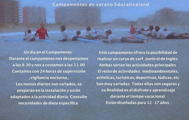Programa inglés del Campus San Miguel de aras